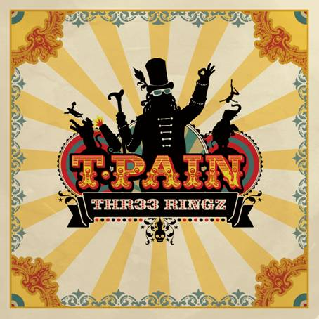 T-Pain artwork courtesy Zomba Recordings