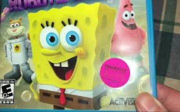 SpongeBob for Wii U