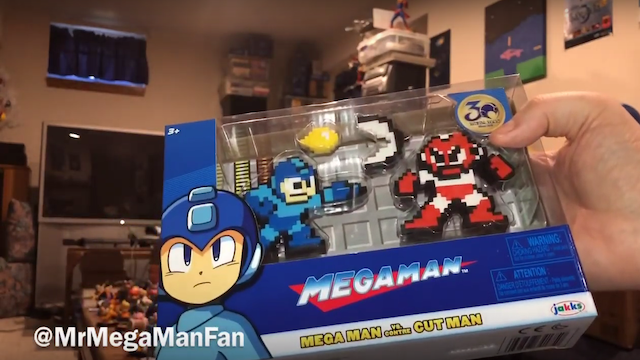 Cut Man and Mega Man